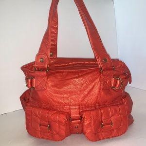 ✅ Bueno Orange Slouchy Shoulder Bag